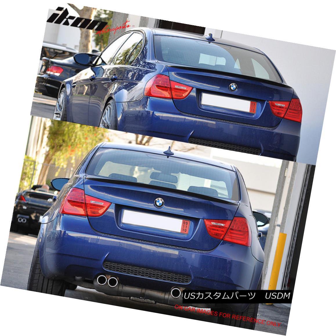 Fits 06-11 3 Series E90 Sedan M3 Trunk Spoiler Painted #381 Lemans Blue Metallic