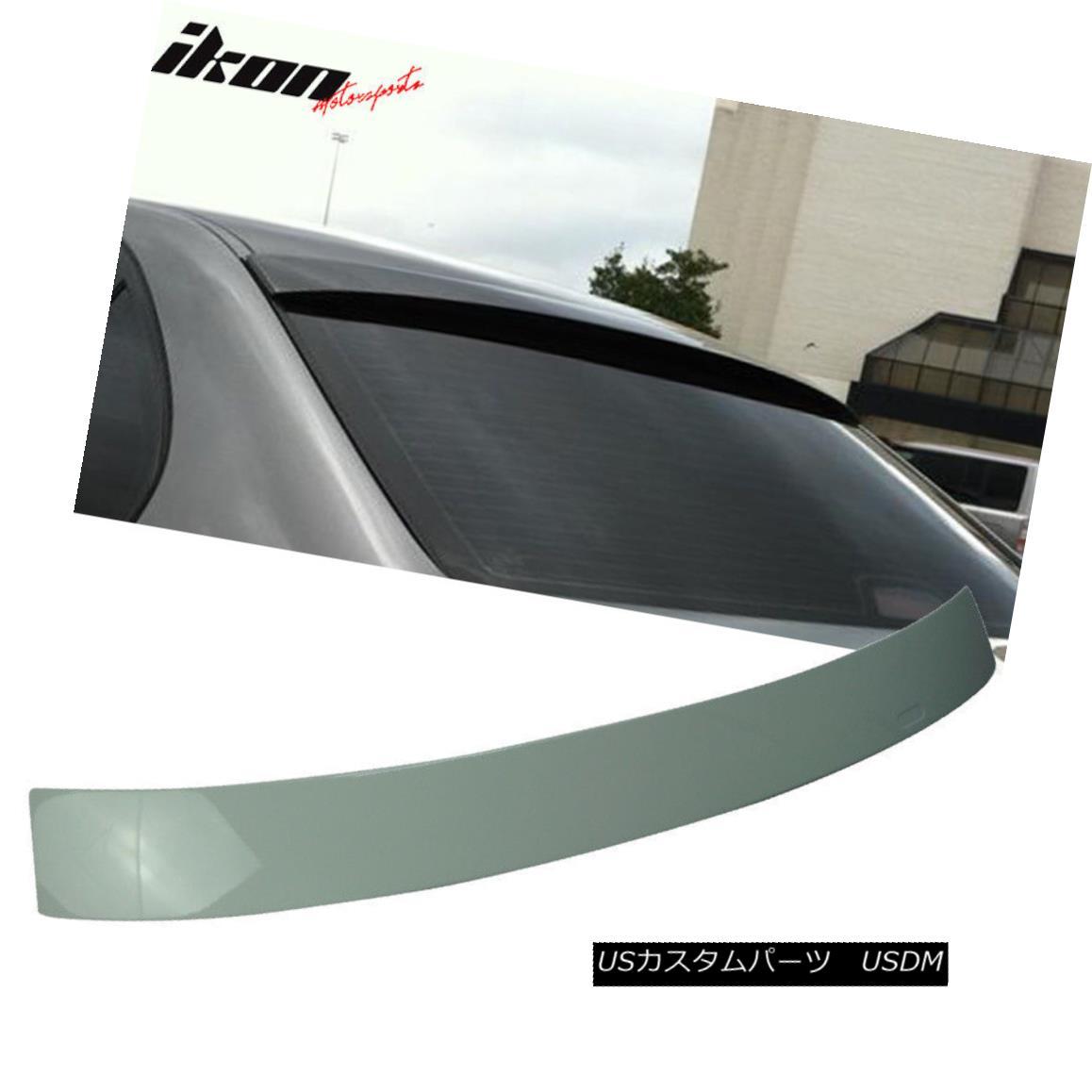 エアロパーツ Fits 97-03 BMW E39 5-Series M5 Roof Spoiler Painted Alpine White III # 300 フィット97-03 BMW E39 5シリーズM5ルーフスポイラー塗装アルパインホワイトIII#300:WORLD倉庫 店
