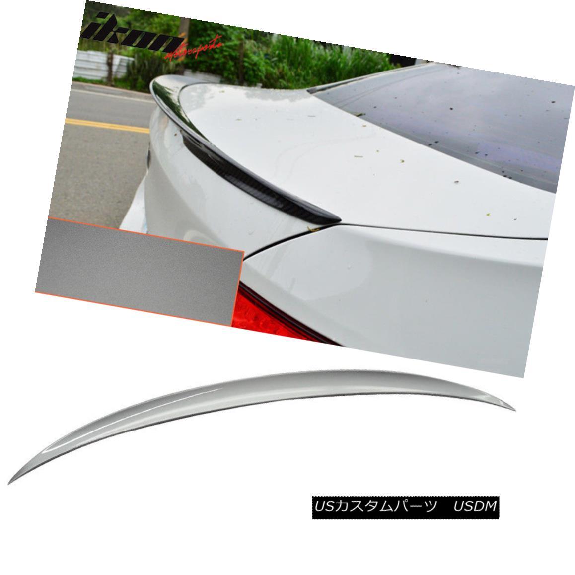 エアロパーツ Fits 11-16 BMW 5-Series F10 Performance Trunk Spoiler Painted #A52 Space Gray フィット11-16 BMW 5シリーズF10パフォーマンストランク・スポイラー#A52スペース・グレー