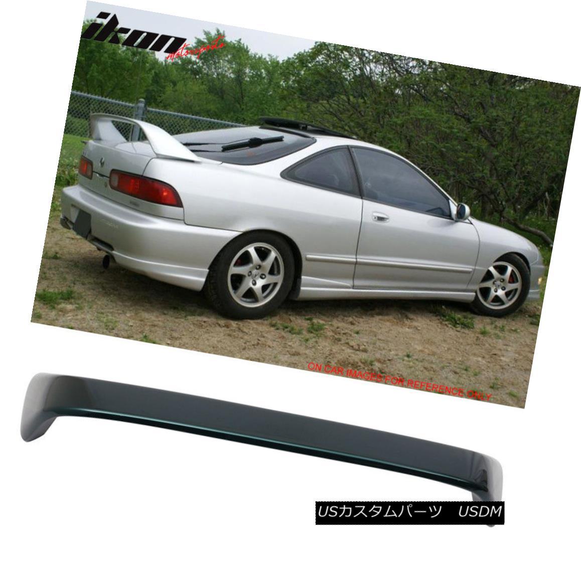 エアロパーツ 94-01 Acura Integra Type R Trunk Spoiler Wing Painted #G82P Cypress Green Pearl 94-01 Acura IntegraタイプRトランク・スポイラー・ウイング・ペイント#G82Pサイプレス・グリーン・パール