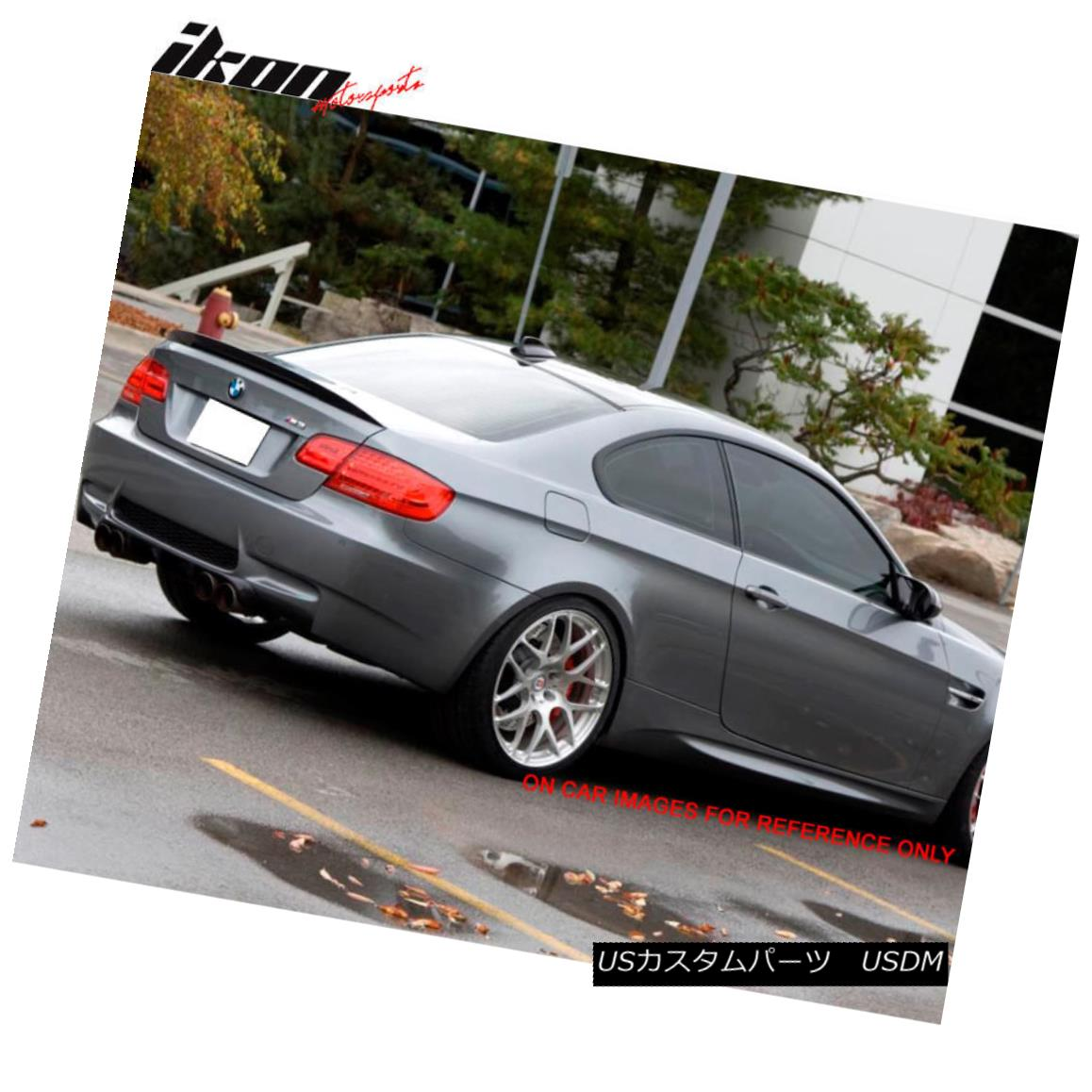 PAINTED E92 BMW COUPE M3 TYPE TRUNK REAR SPOILER 354 SILVER ▼