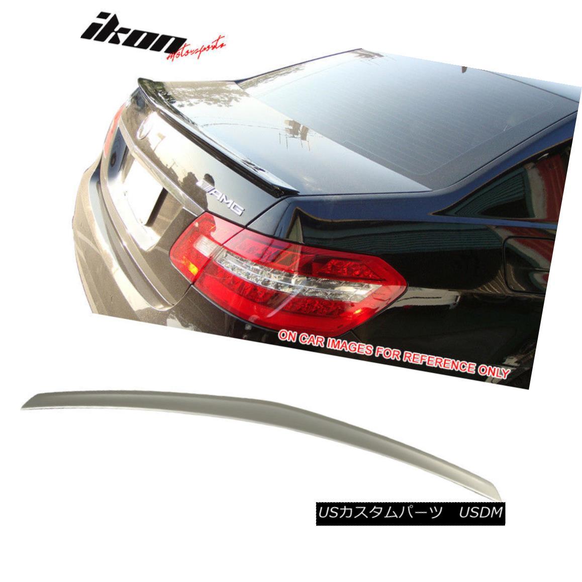 エアロパーツ Fits 10-16 Benz E-Class W212 AMG Trunk Spoiler Painted #794 Pearl Beige Metallic フィット10-16ベンツEクラスW212 AMGトランク・スポイラー・ペイント#794パール・ベージュ・メタリック