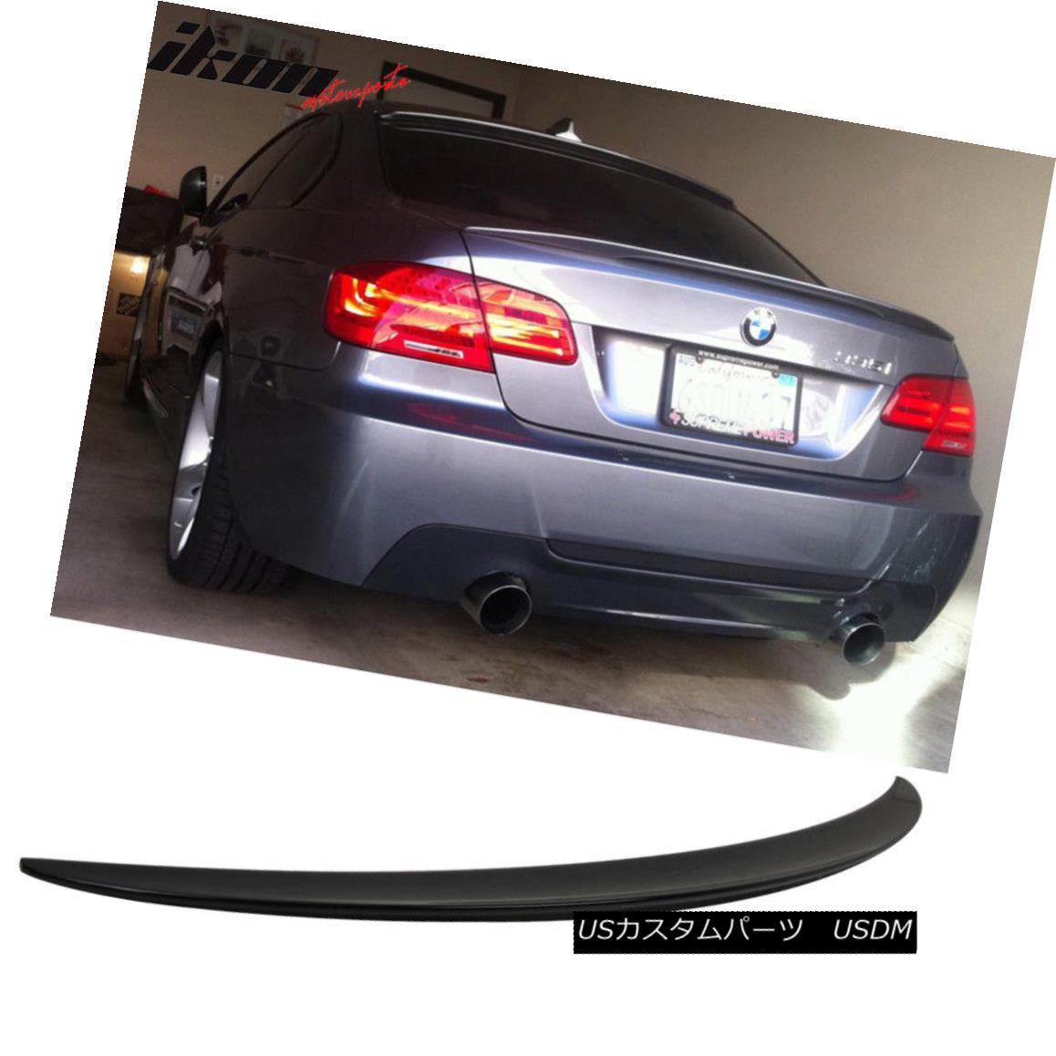 エアロパーツ 07-13 3-Series E93 Trunk Spoiler P-Style # 475 Black Sapphire Metallic 07-13 3シリーズE93トランク・スポイラーP-Style#475 Black Sapphire Metallic