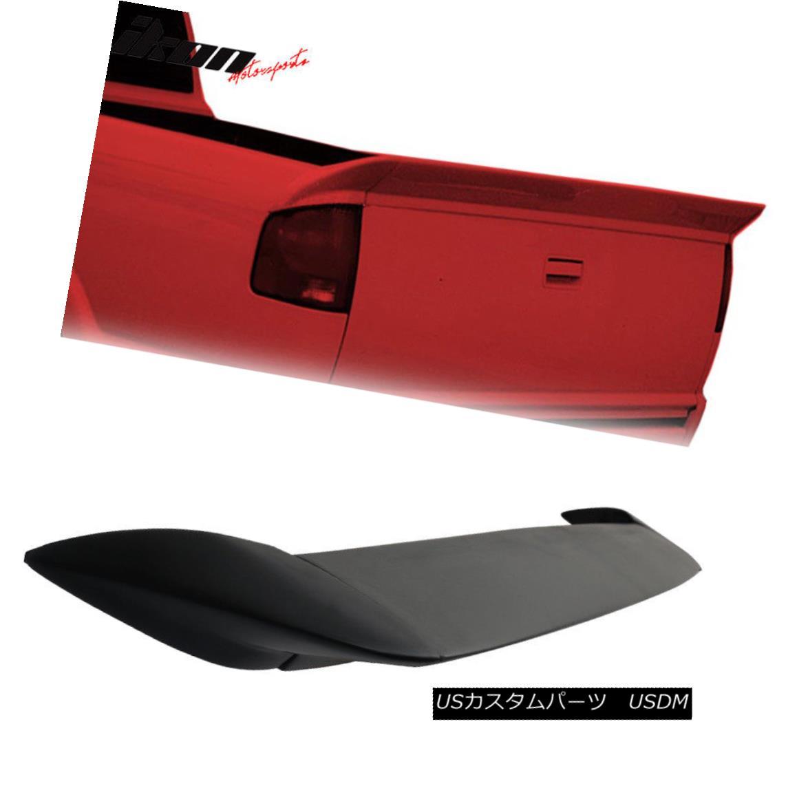 エアロパーツ Fits 94-03 S10 Sonoma WW Style Rear Tailgate Trunk Spoiler 3PC - PU Urethane フィット94-03 S10ソノマWWスタイルリアテールゲートトランクスポイラー3PC - PUウレタン