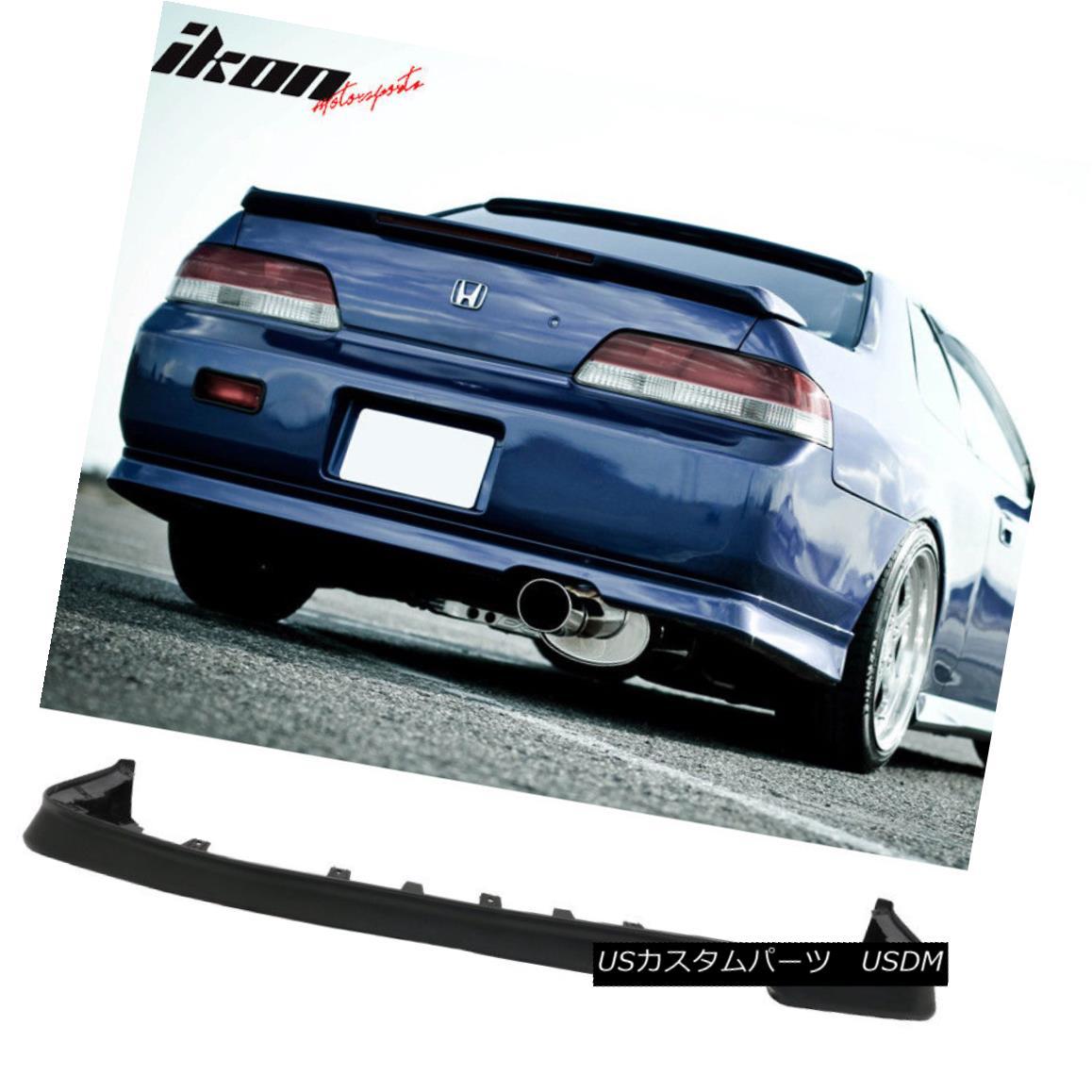 エアロパーツ Fits 97-01 Honda Prelude BB6 OE Factory Style Rear Bumper Lip Valance フィット97-01ホンダプレリュードBB6 OE工場スタイルリアバンパーリップバランス