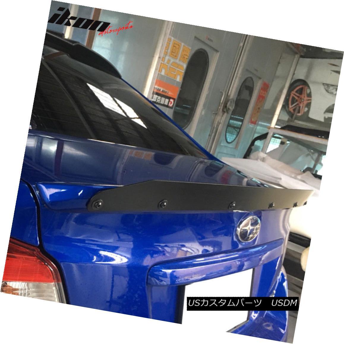 Carbon Subaru WRX STI Trunk Deck Lip Spoiler OE Type Sedan Imprezer Fiber 2015+