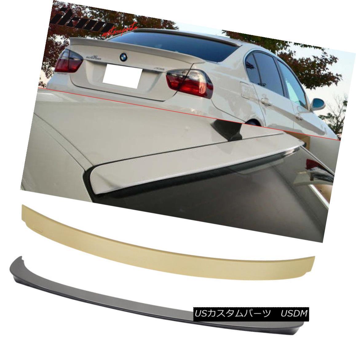 エアロパーツ Fits 06-11 BMW 3 Series E90 Sedan AC Style Trunk Spoiler & Roof Wing ABS フィット06-11 BMW 3シリーズE90セダンACスタイルトランクスポイラー& 屋根ウィングABS
