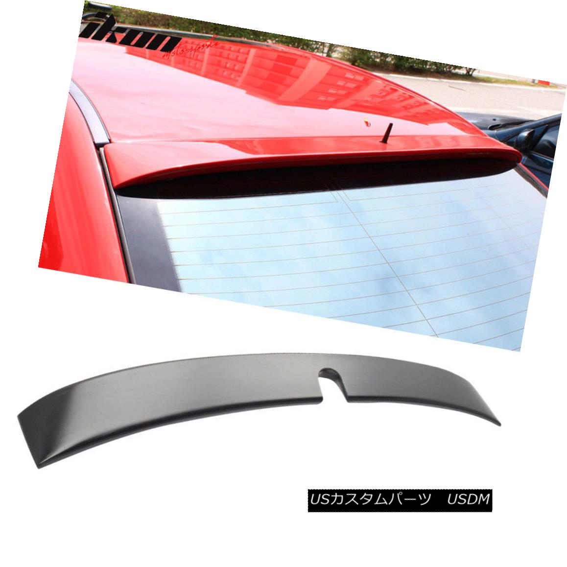 エアロパーツ Fits 01-07 Benz C-Class W203 Sedan L Style Roof Spoiler Wing - ABS フィット01-07ベンツCクラスW203セダンLスタイル屋根スポイラーウィング - ABS