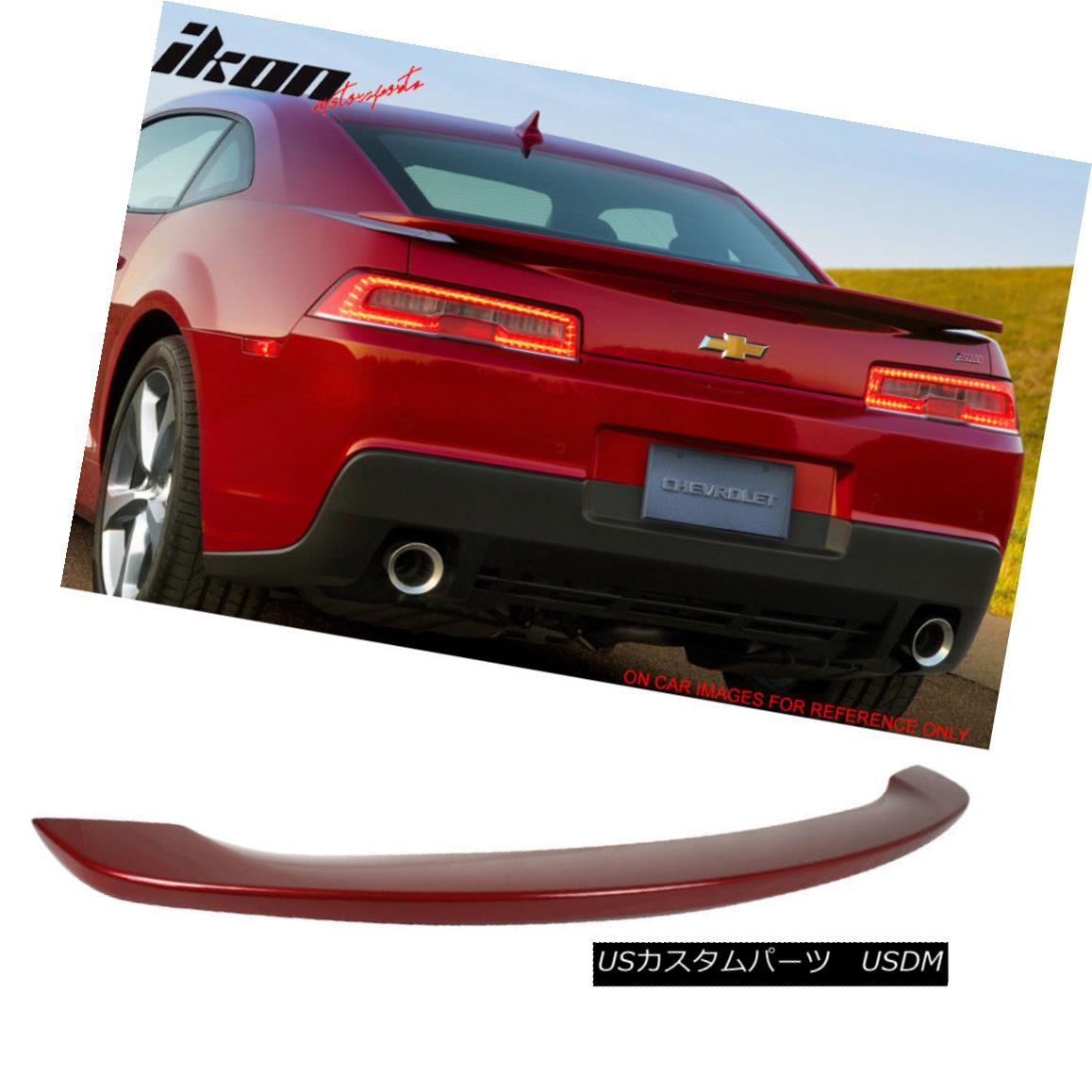エアロパーツ 14-15 Camaro OE Trunk Spoiler Painted #WA133X Ladies and Magenta-Man Metallic 14-15カマロOEトランク・スポイラー#WA133Xレディースとマゼンタ・マン・メタリック