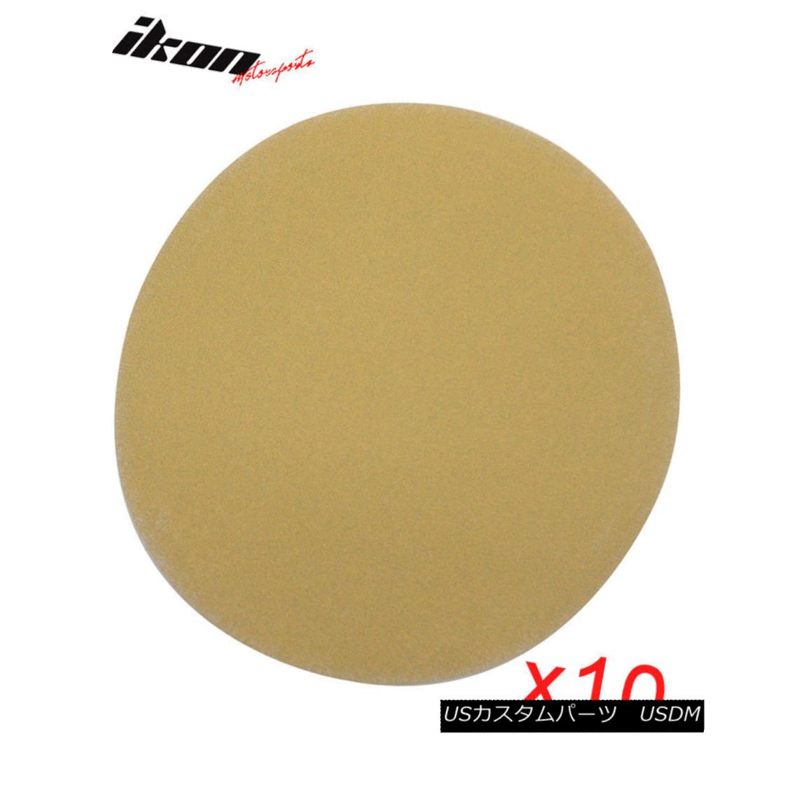 Fit x50 Dry Sand Paper Bumper Collision Repair Sanding Disc 240 Grit 5 Inch