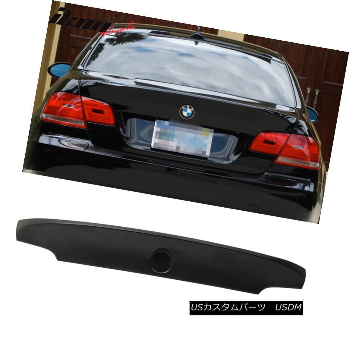 エアロパーツ Fit For 07-13 BMW 3-Series E92 M3 CSL Style Unpainted Trunk Spoiler - ABS 07-13 BMW 3シリーズE92 M3 CSLスタイル未塗装トランク・スポイラー - ABS用