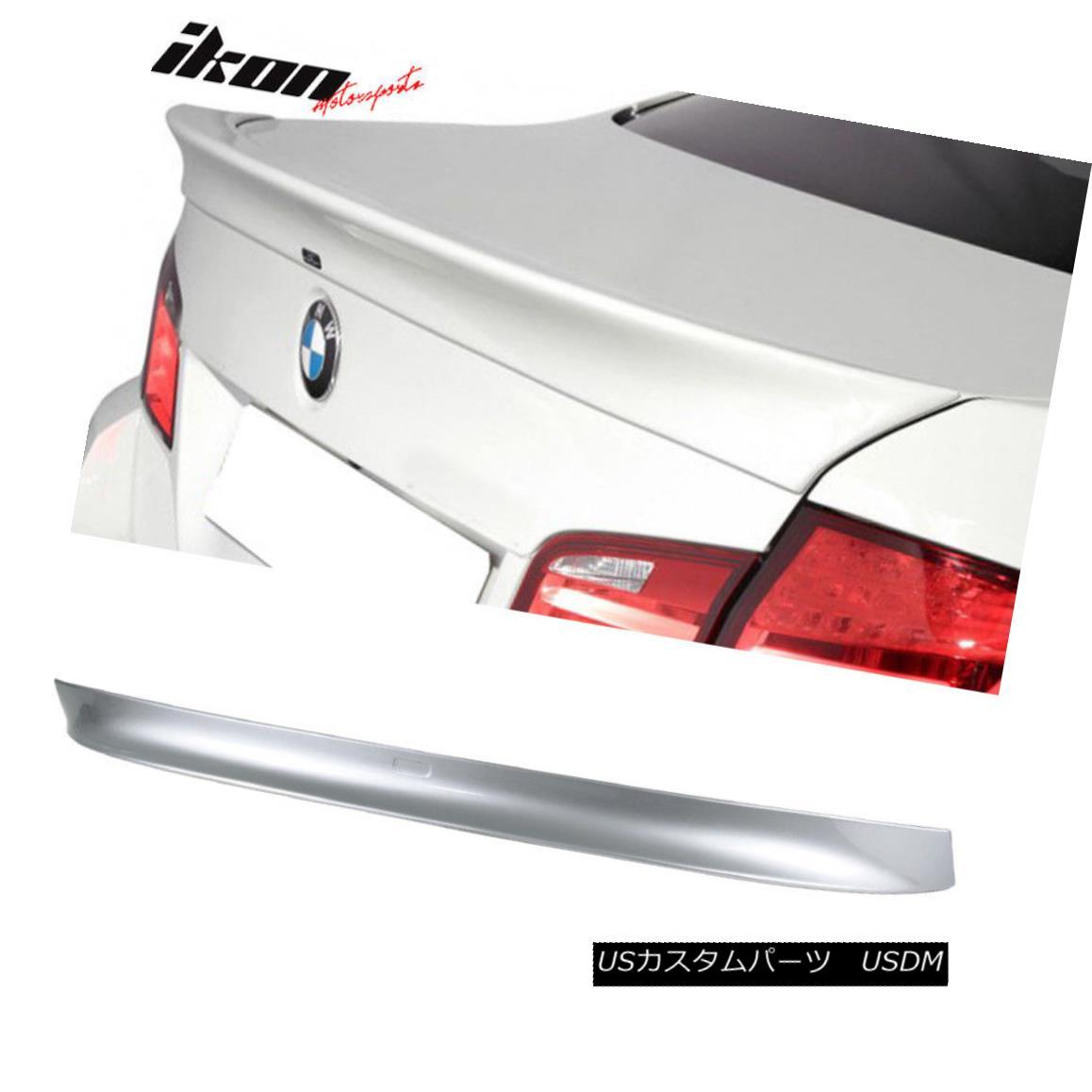 エアロパーツ 11-16 BMW F10 4Dr Sedan AC Painted Trunk Spoiler #A83 Glacier Silver Metallic 11-16 BMW F10 4DrセダンAC塗装トランク・スポイラー#A83氷河シルバー・メタリック