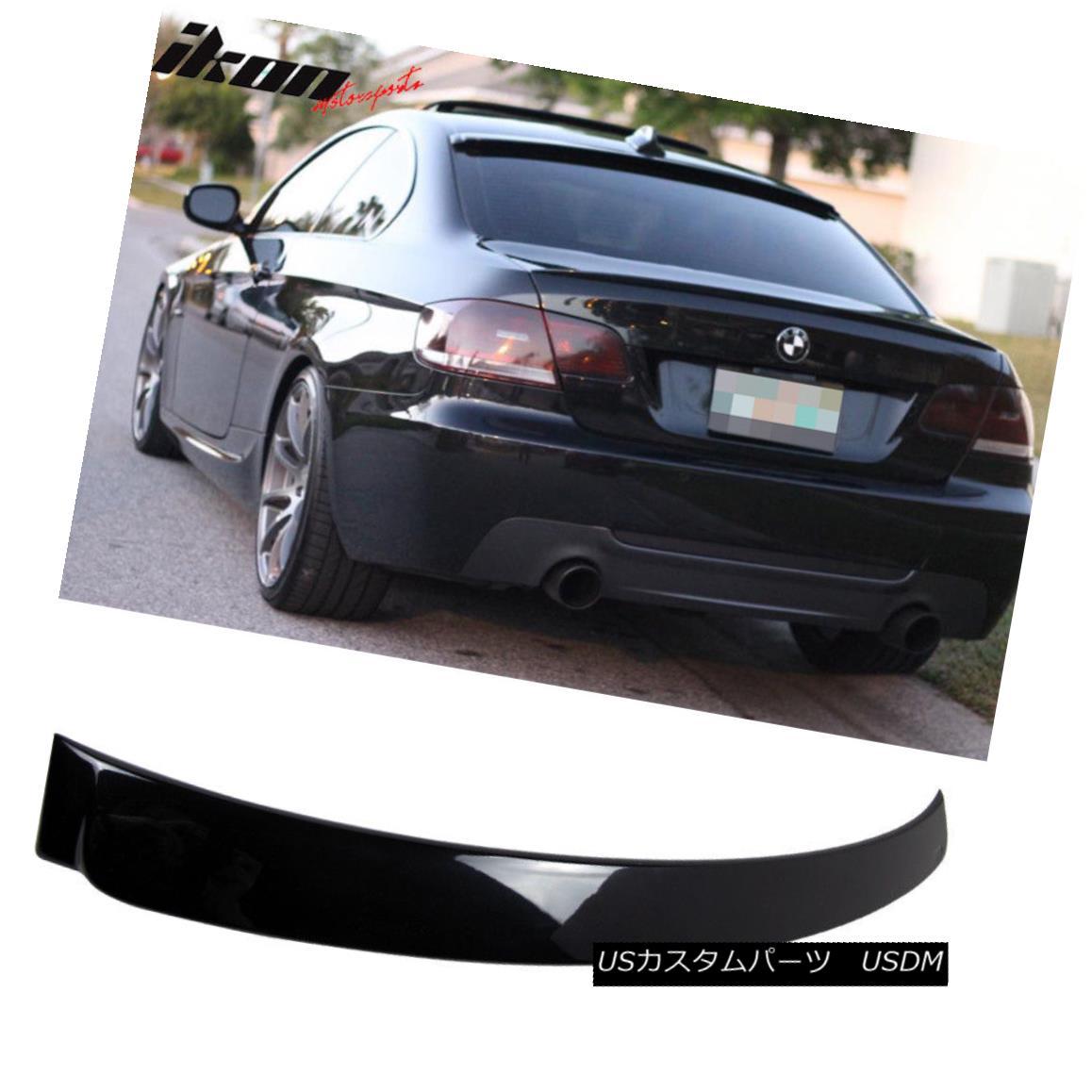 エアロパーツ 07-13 E92 3 Series ABS Rear Roof Spoiler Painted Black Sapphire Metallic # 475 07-13 E92 3シリーズABSフロントルーフスポイラーペイントブラックサファイアメタリック#475