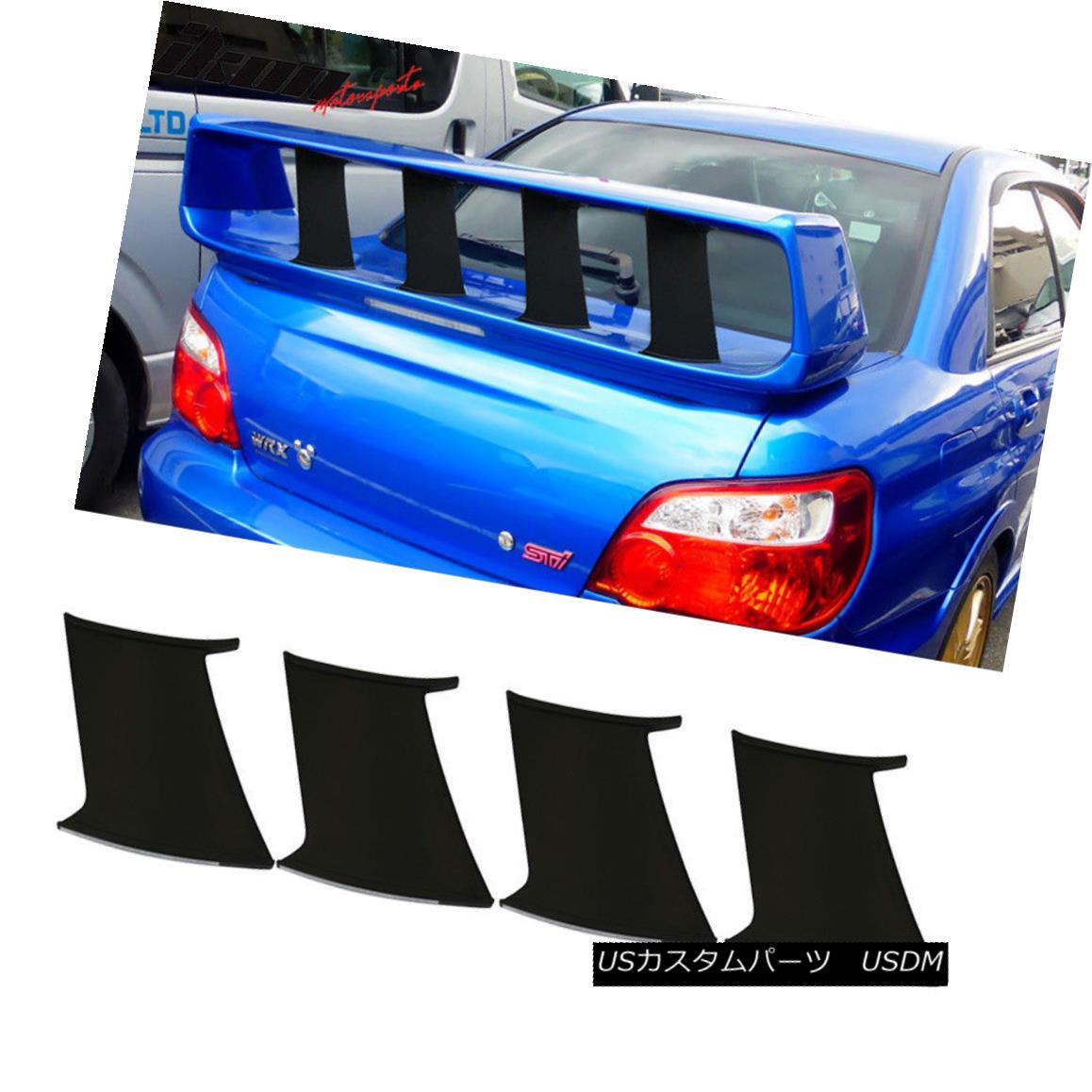 Fits 06-11 Civic Performance Trunk Spoiler Painted #B537M Atomic Blue Metallic