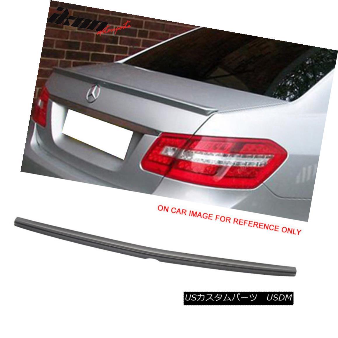 Painted Mercedes BENZ E-Class W212 4DR Sedan Rear Roof Lip Spoiler Wing 10-16 §