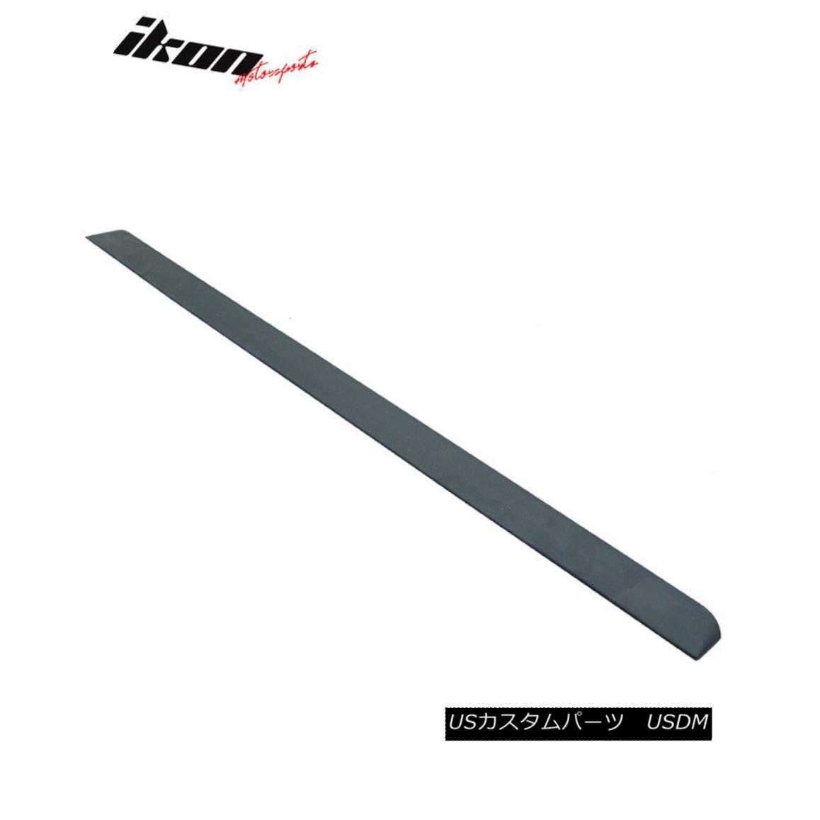 エアロパーツ Fits 08-12 Honda Accord 8th F Style Unpainted Roof Spoiler (PUF) フィット08-12ホンダアコード8th Fスタイル無塗装ルーフスポイラー(PUF)