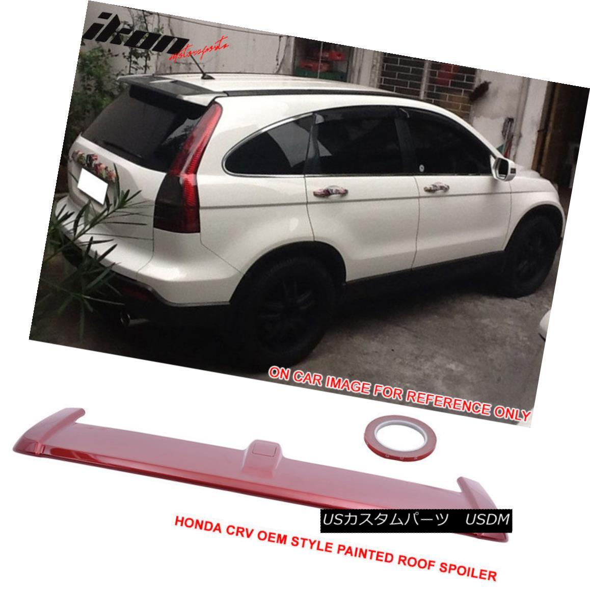 人気新品入荷 エアロパーツ Fit 07-11 Honda CRV OE Style Painted Tango Red Pearl Trunk Spoiler - ABS(#R525P) フィット07-11ホンダCRV OEスタイル塗装タンゴレッドパールトランクスポイラー - ABS(#R525P), ペルシャ絨毯ギャッベJAHAN a93681fd