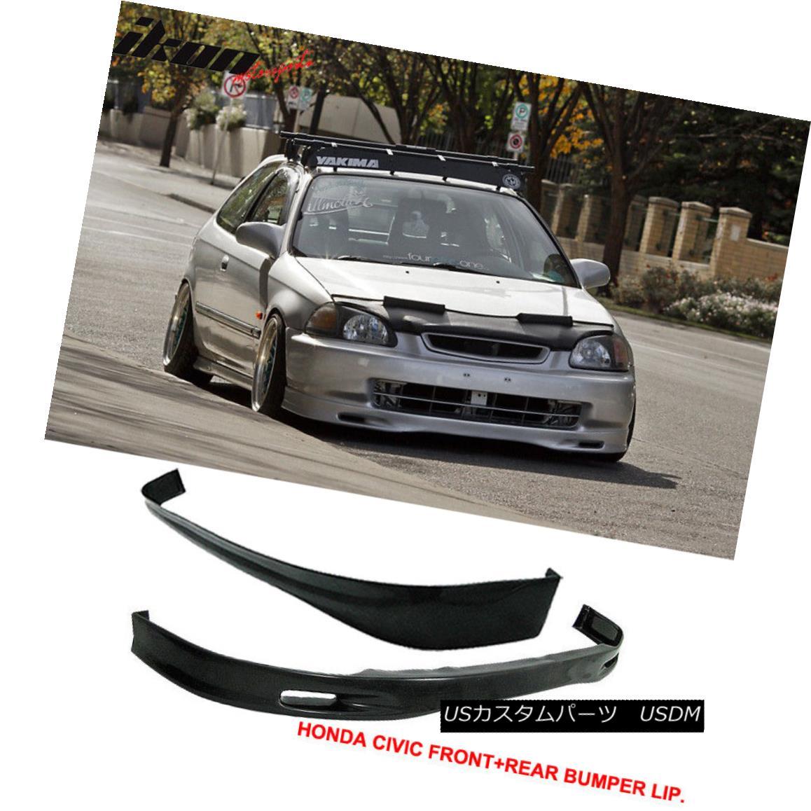 Fits 2001 2002 2003 Honda Civic Sedan Rear Bumper COVER PAINTED