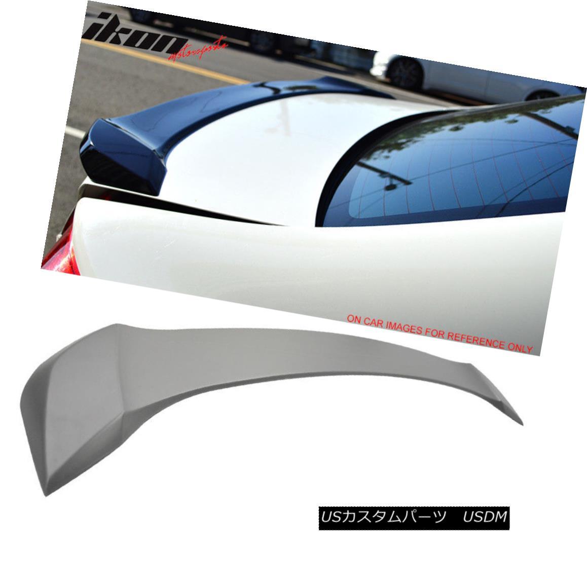 エアロパーツ Fits 12-15 Honda Civic 9th Gen Sedan OE Factory Unpainted ABS Trunk Spoiler フィット12-15ホンダシビック第9世代セダンOE工場未塗装ABSトランクスポイラー