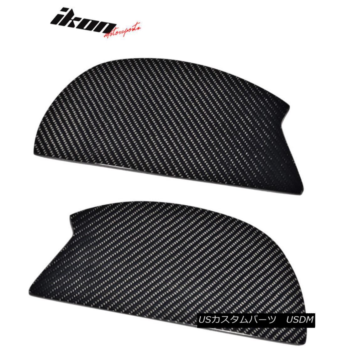 エアロパーツ V3 Universal GT Trunk Spoiler Wing Side Plate Add On- Carbon Fiber CF V3ユニバーサルGTトランク・スポイラーウイングサイド・プレートにカーボンファイバーCFを追加