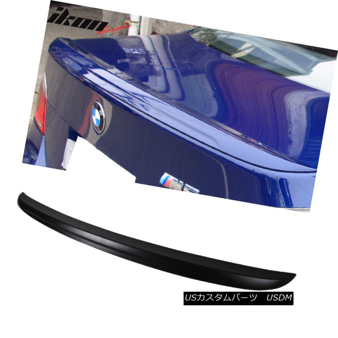 エアロパーツ 04-10 BMW E60 5-Series Sedan M5 Style Trunk Spoiler Wing ABS 04-10 BMW E60 5シリーズセダンM5スタイルトランクスポイラーウィングABS