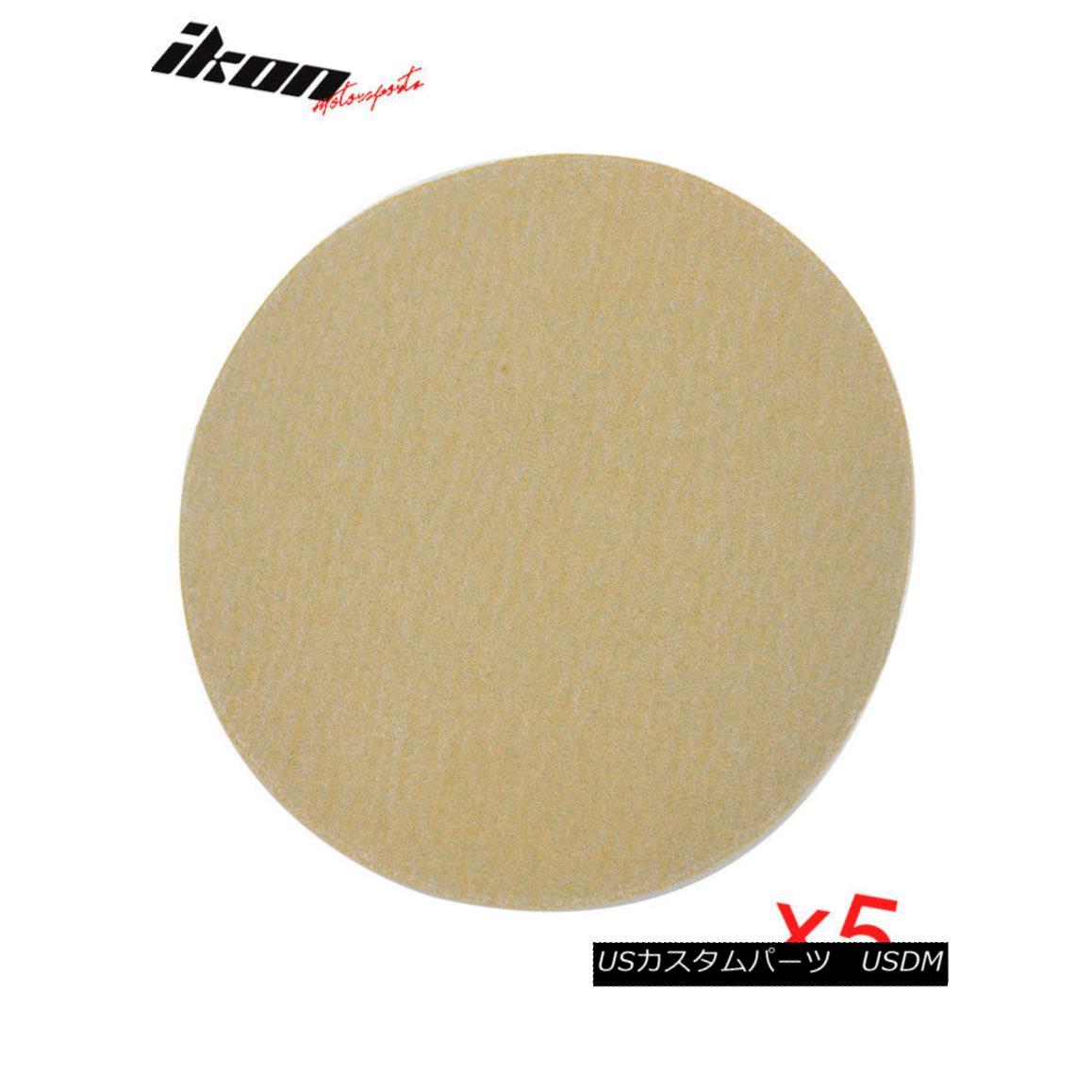 Car 150 Sheets Paper Grit 5 PSAオートカーサンディングペーパーシート修理サンドペーパーベルクロ50PC Repair Sandpaper Sanding ディスク150グリット5 50PC Auto エアロパーツ Velcro PSA Disc