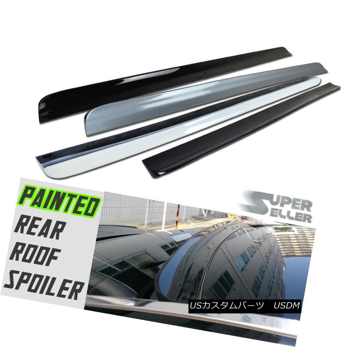 エアロパーツ Painted HONDA ACCORD 9th Coupe Rear Window Roof Lip Spoiler 03-15 塗装ホンダアコード9thクーペリアウィンドウルーフリップスポイラー03-15