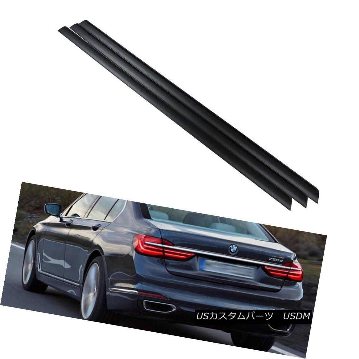 エアロパーツ Unpainted BMW 7 Series G11 G12 Sedan Rear Trunk Lip Spoiler Wing 18 NEW 未塗装のBMW 7シリーズG11 G12セダンリアトランクリップスポイラーウィング18 NEW
