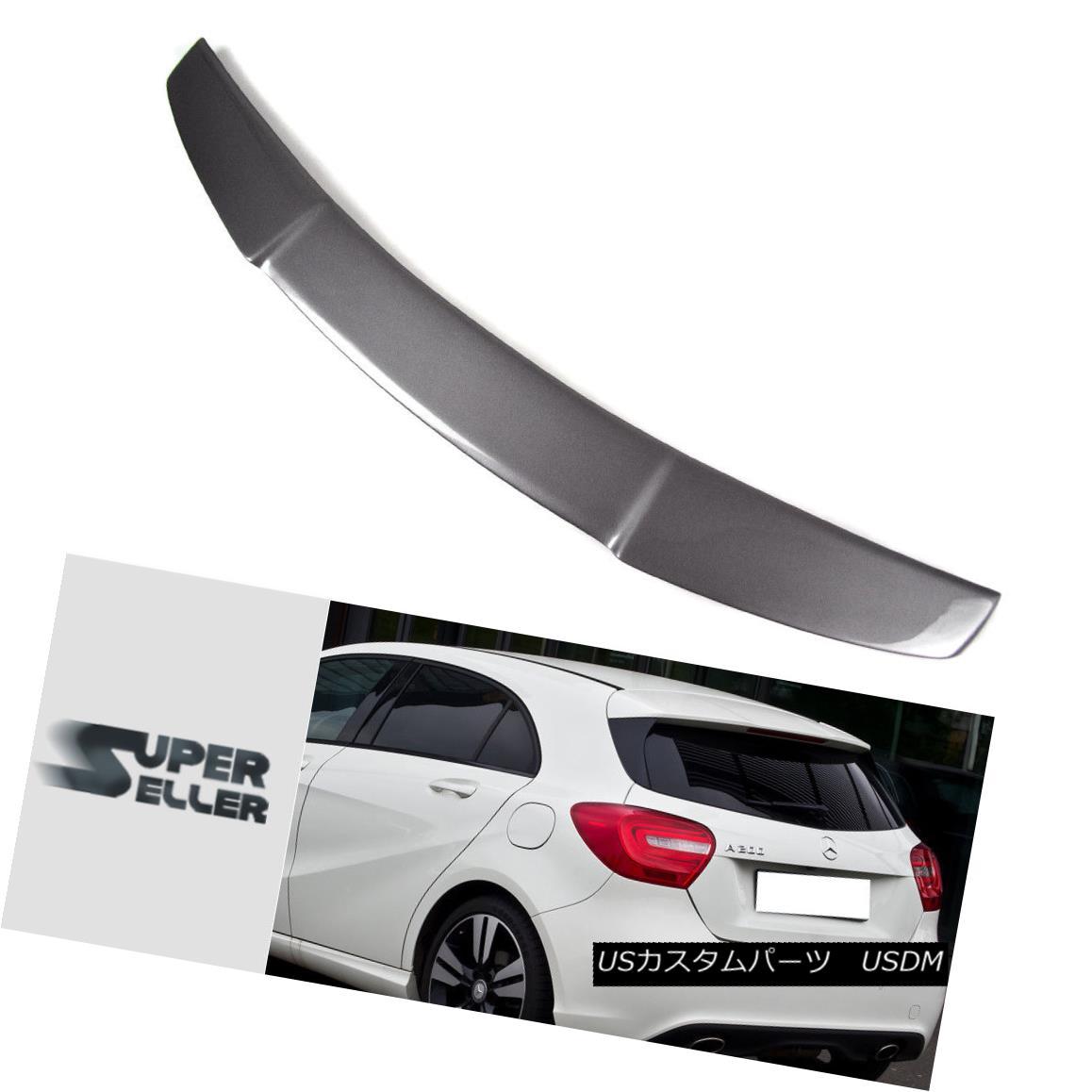 エアロパーツ Painted Color For Mercedes BENZ W176 Hatchback D Type Trunk Roof Spoiler 14-18 メルセデスベンツW176ハッチバックD型トランクルーフスポイラー14-18の塗装色