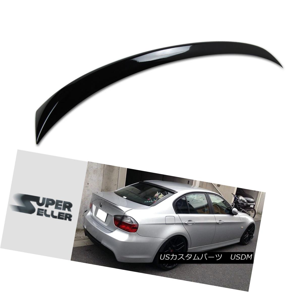 エアロパーツ Painted 06-11 BMW E90 TRUNK SPOILER 4D OE TYPE 3-SERIES 325xi M3 2011 塗装06-11 BMW E90トランクスポイラー4D OEタイプ3シリーズ325xi M3 2011
