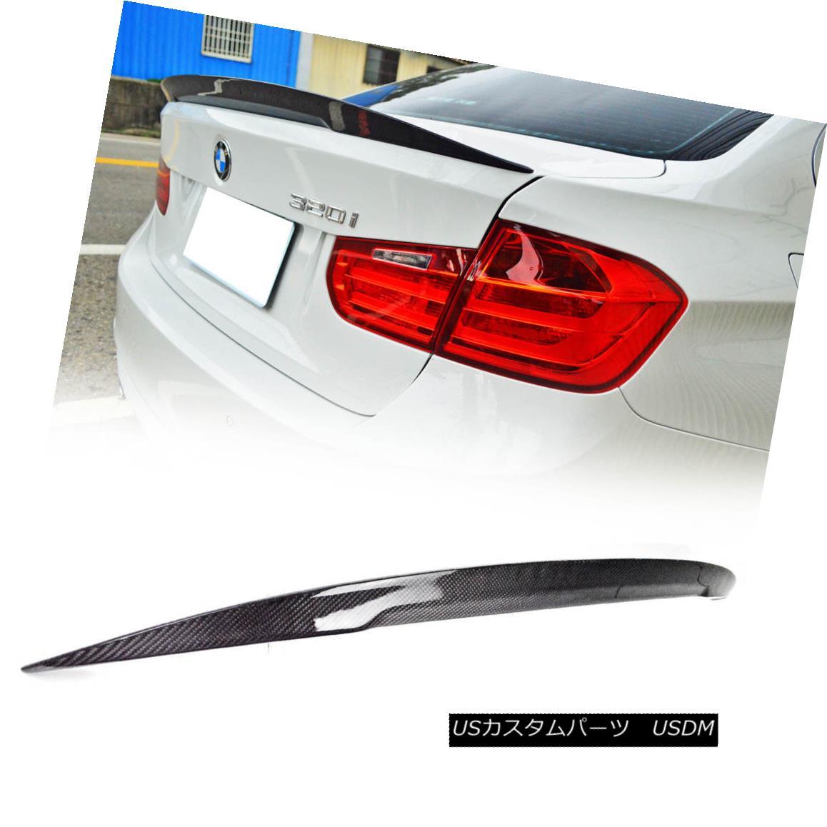 エアロパーツ CARBON BMW F30 SEDAN F80 M3 HIGH PERFORMANCE REAR TRUNK SPOILER 328i 340i カーボンBMW F30セダンF80 M3ハイパフォーマンスリアトゥーンスポイラー328i 340i