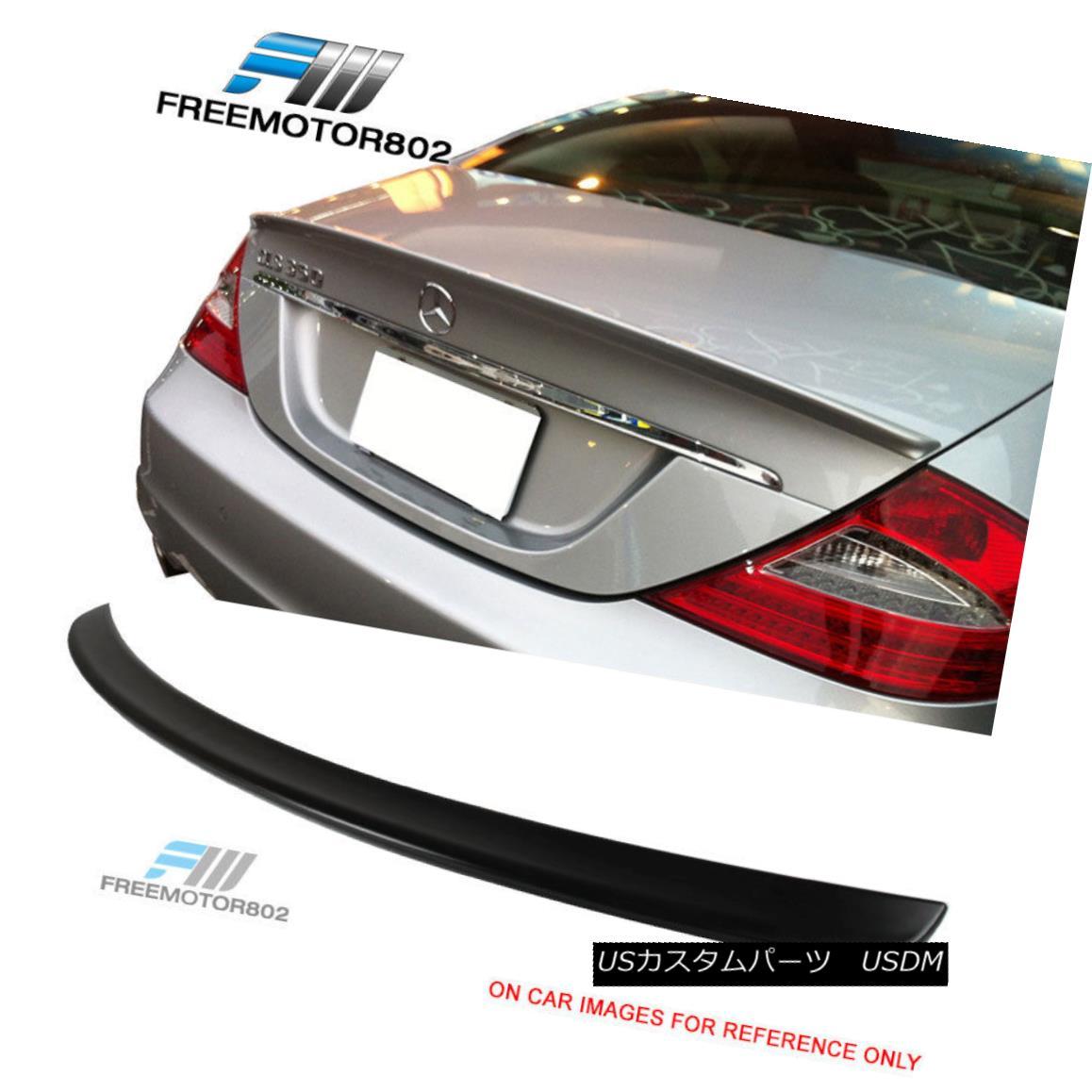 エアロパーツ Fit For 05-10 Mercedes-Benz W219 CLS-Class Rear Trunk Spoiler Wing ABS 05-10メルセデス・ベンツW219 CLSクラス・リア・トランク・スポイラー・ウイングABS