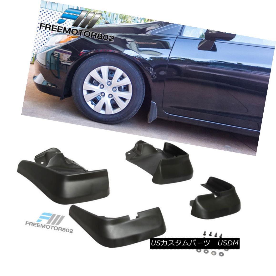 """34/"""" x 6.25/"""" Shark Fin ABS Rear Bumper Splitter 4 Diffuser Fin Black For Mercedes"""