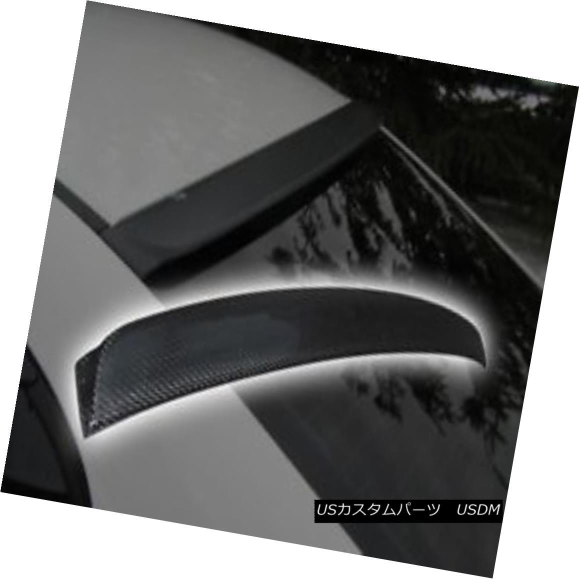 エアロパーツ 06-10 CIVIC 4DR NEW JDM CARBON FIBER REAR ROOF WINDOW SPOILER VENT DIFFUSER WING 06-10シビック4DR NEW JDMカーボンファイバーリアルーフウインドースポイラーベントディフューザーウイング