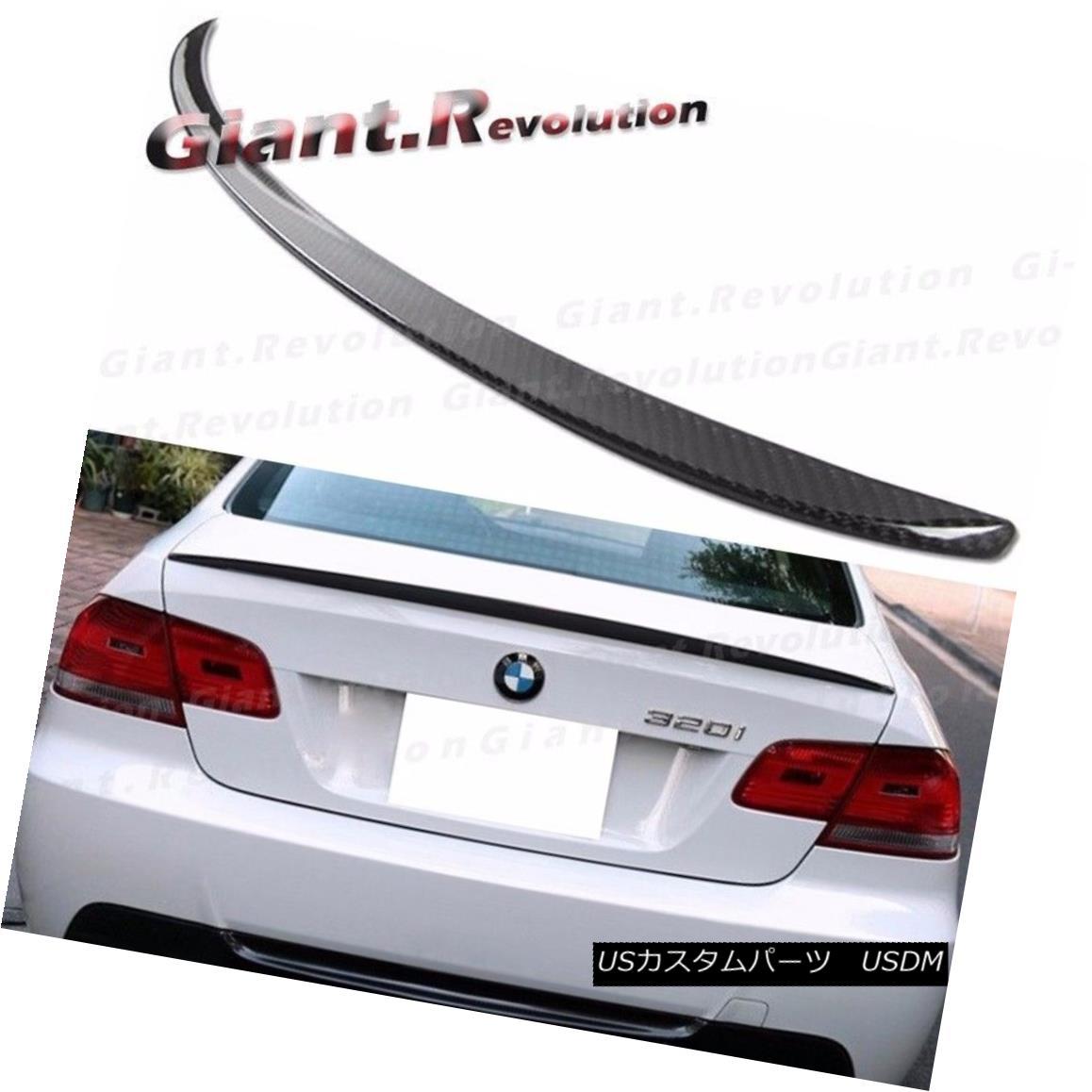 エアロパーツ Carbon Fiber M3 Trunk Boot Spoiler For BMW 07-13 3 Series E92 328i 335i M3 Coupe カーボンファイバーM3トランクブーツスポイラーBMW 07-13 3シリーズE92 328i 335i M3クーペ