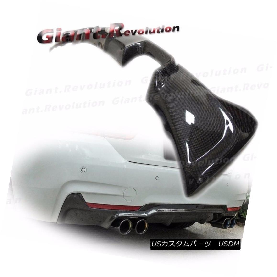 エアロパーツ 3K Carbon Fiber 3D Look Rear Diffuser For 2014 On BMW F32 F33 F36 M Tech Bumper BMW F32 F33 F36 Mテックバンパーで、2014年の3Kカーボンファイバー3Dリアディフューザーを見る