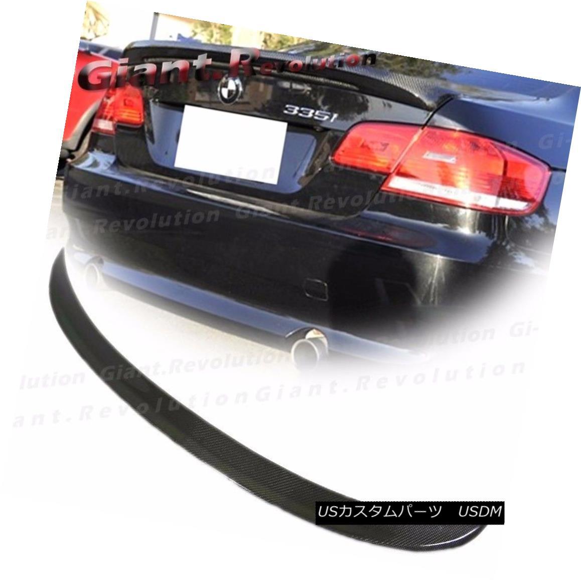 エアロパーツ Carbon Fiber M Tech Rear Trunk Spoiler For BMW 07-13 E92 3-Series Coupe 328i M3 BMW 07-13 E92用カーボンファイバーMテクノロジーリアトランク・スポイラー3シリーズ・クーペ328i M3