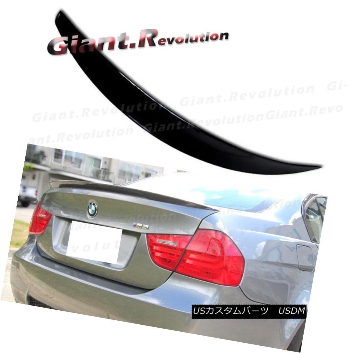 エアロパーツ For BMW E90 3 Series 328i 330i Sedan 4 Doors Painted P Style Rear Trunk Spoiler BMW E90 3シリーズ328i 330iセダン4ドアペイントPスタイルリアトランク・スポイラー