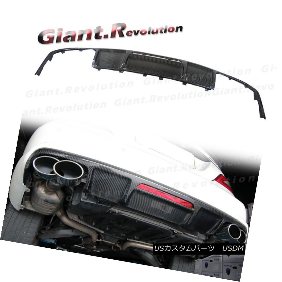 エアロパーツ Carbon Fiber Rear Sporty Diffuser Lip For 11-16 MB W218 CLS350 CLS63 AMG Bumper 11-16 MB W218 CLS350 CLS63 AMGバンパーのための炭素繊維の後部のスポーティーなディフューザリップ