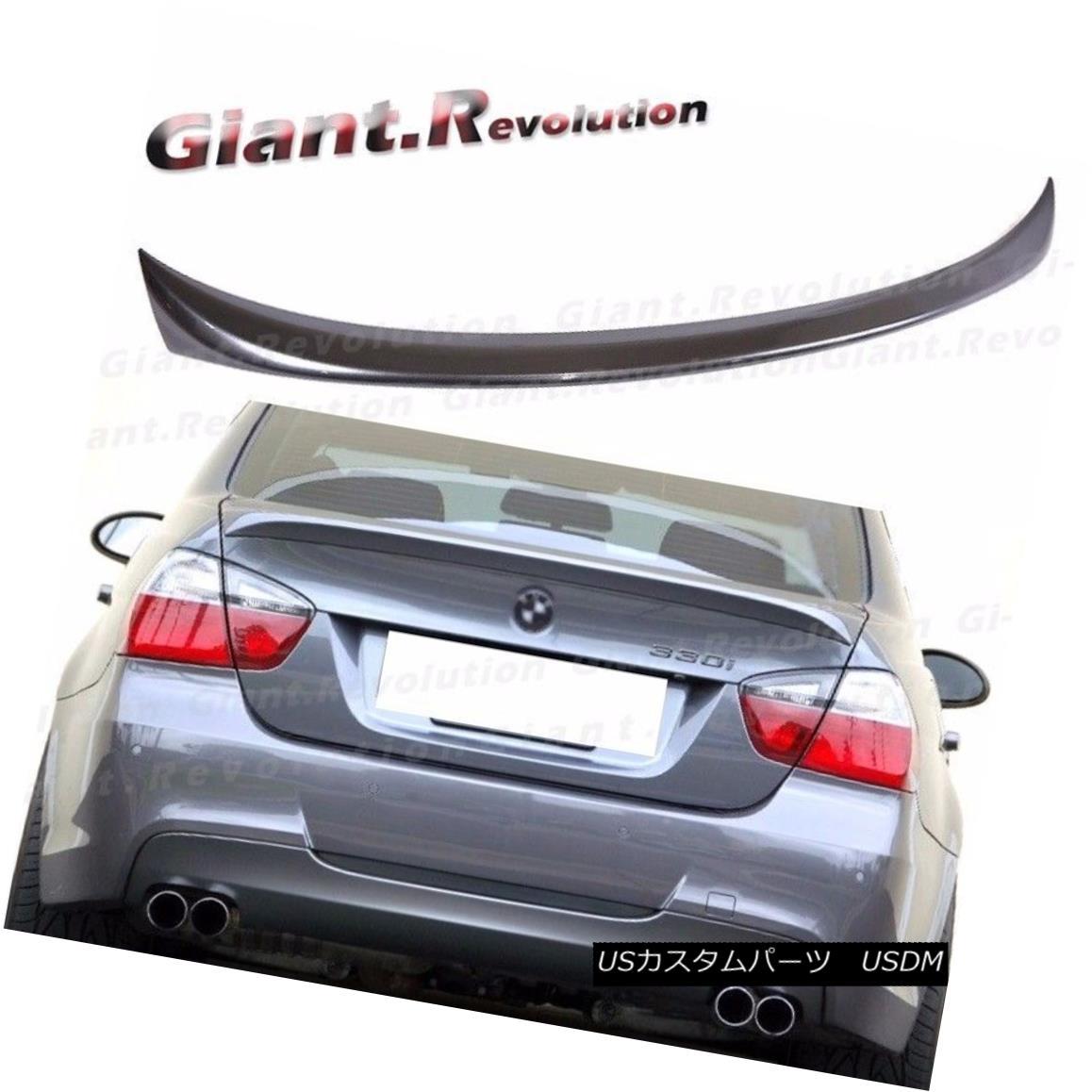 エアロパーツ Painted OE Type Trunk Spoiler For BMW E90 3 Series 323i 335i M3 Sedan Rear Tail BMW E90 3シリーズ323i 335i M3セダンリアタイヤ用塗装済みOEタイプトランク・スポイラー