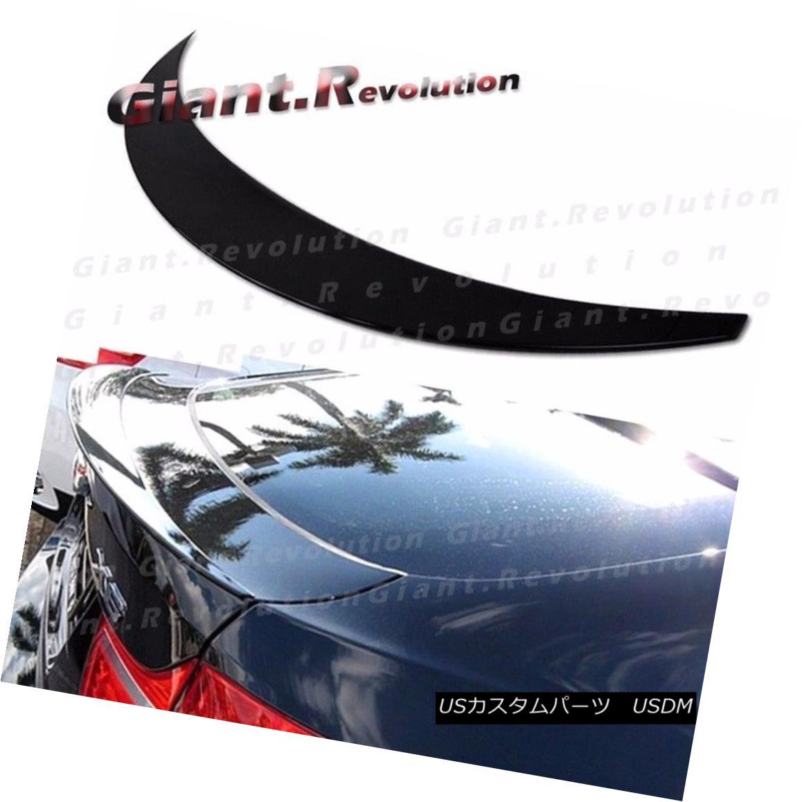 エアロパーツ Painted P Type Rear Trunk Spoiler Fit BMW 08-13 E71 X6 Liftback Deck Wing Boot 塗装済みPタイプリアトランク・スポイラーBMW 08-13 E71 X6リフトバック・デッキ・ウィング・ブーツ