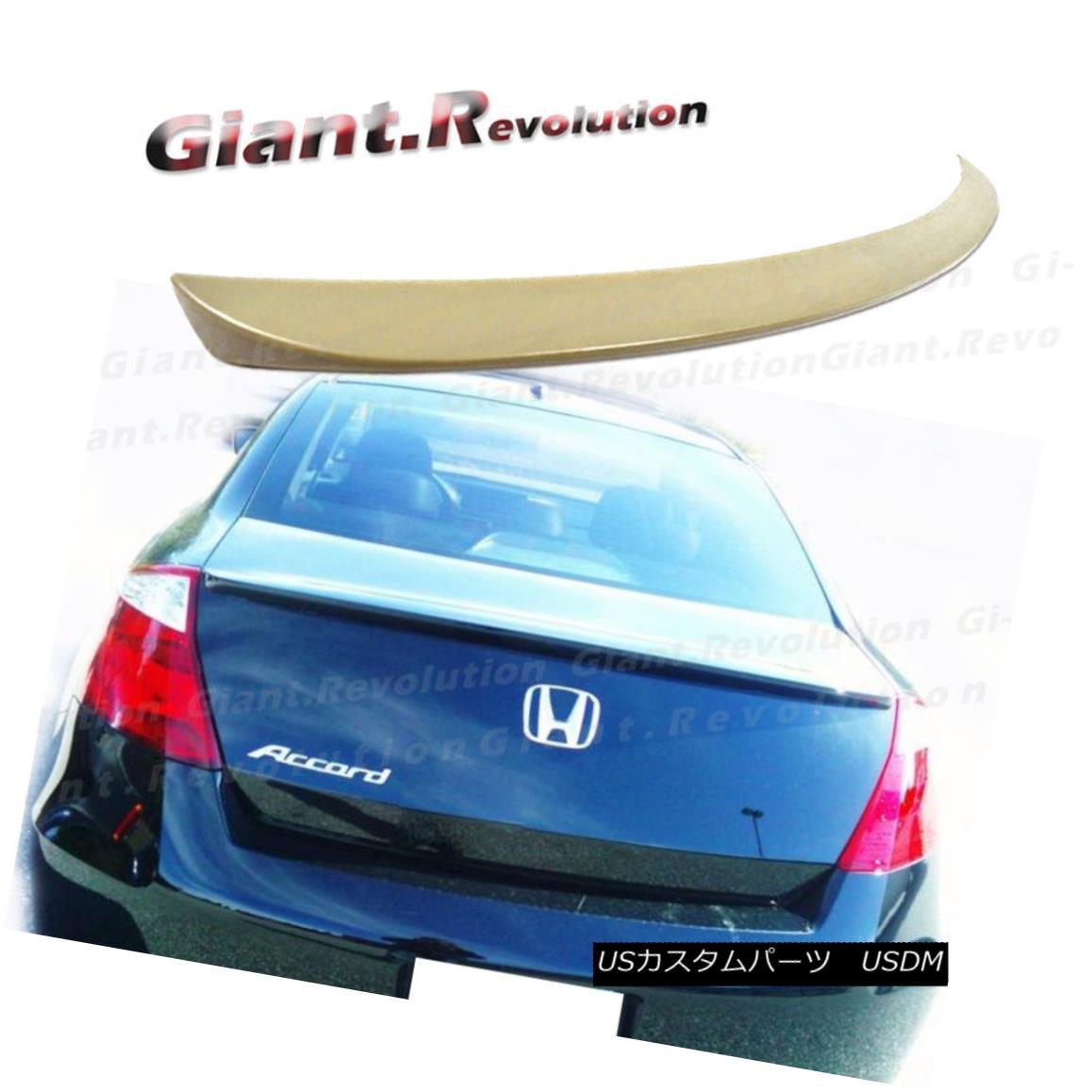New OEM Honda Accord 4Dr Sedan Rear Spoiler Type 1 Night Blue Pearl 2008-2012