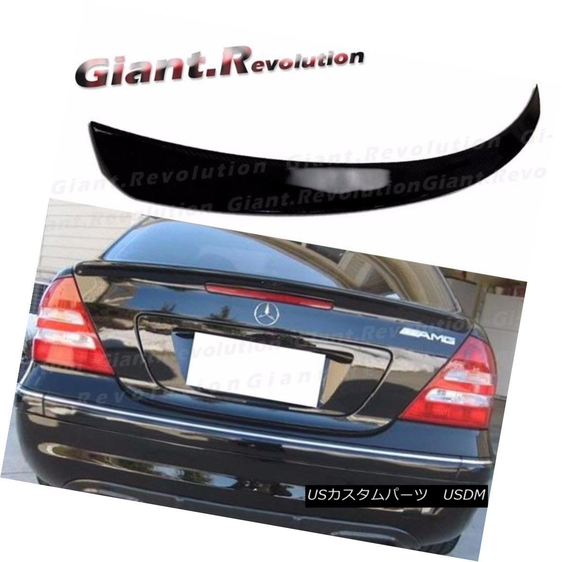 エアロパーツ #040 Black 01-07 M BENZ W203 A Type Trunk Wing Spoiler C230 C320 C55 Sedan Boot #040ブラック01-07 MベンツW203 AタイプトランクウィングスポイラーC230 C320 C55セダンブーツ