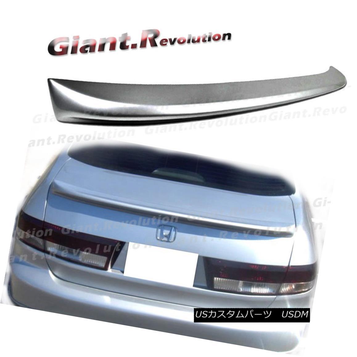 エアロパーツ UNCOATED COLOR 03-05 Honda Accord 7th US Model Sedan OE Style Rear Trunk Spoiler UNCOATED COLOR 03-05ホンダアコード7th USモデルセダンOEスタイルリアトランク・スポイラー