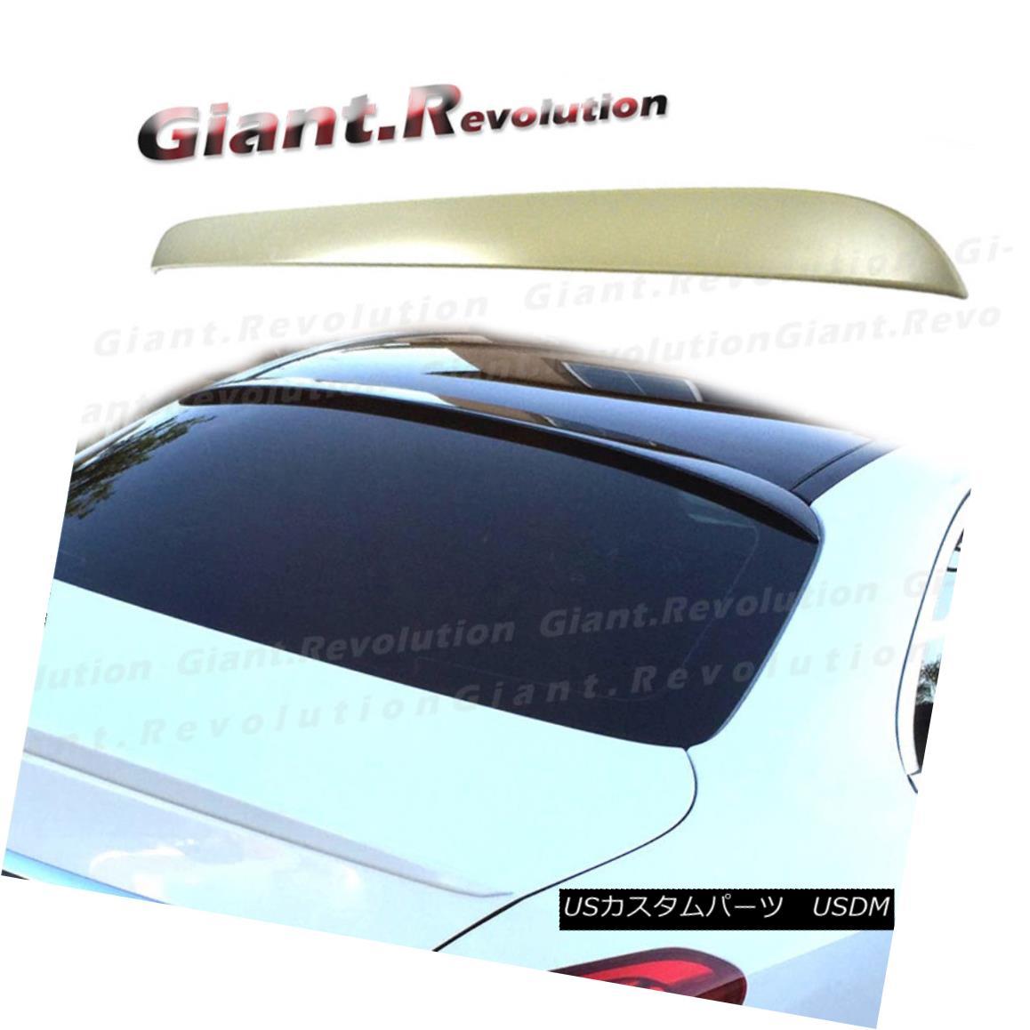 エアロパーツ UNCOATED A Look Rear Roof Spoiler Boot Fit 2015+ M-Benz W205 Sedan 4DR C180 C250 外観ルーフスポイラーブーツフィット2015+ M-Benz W205 Sedan 4DR C180 C250