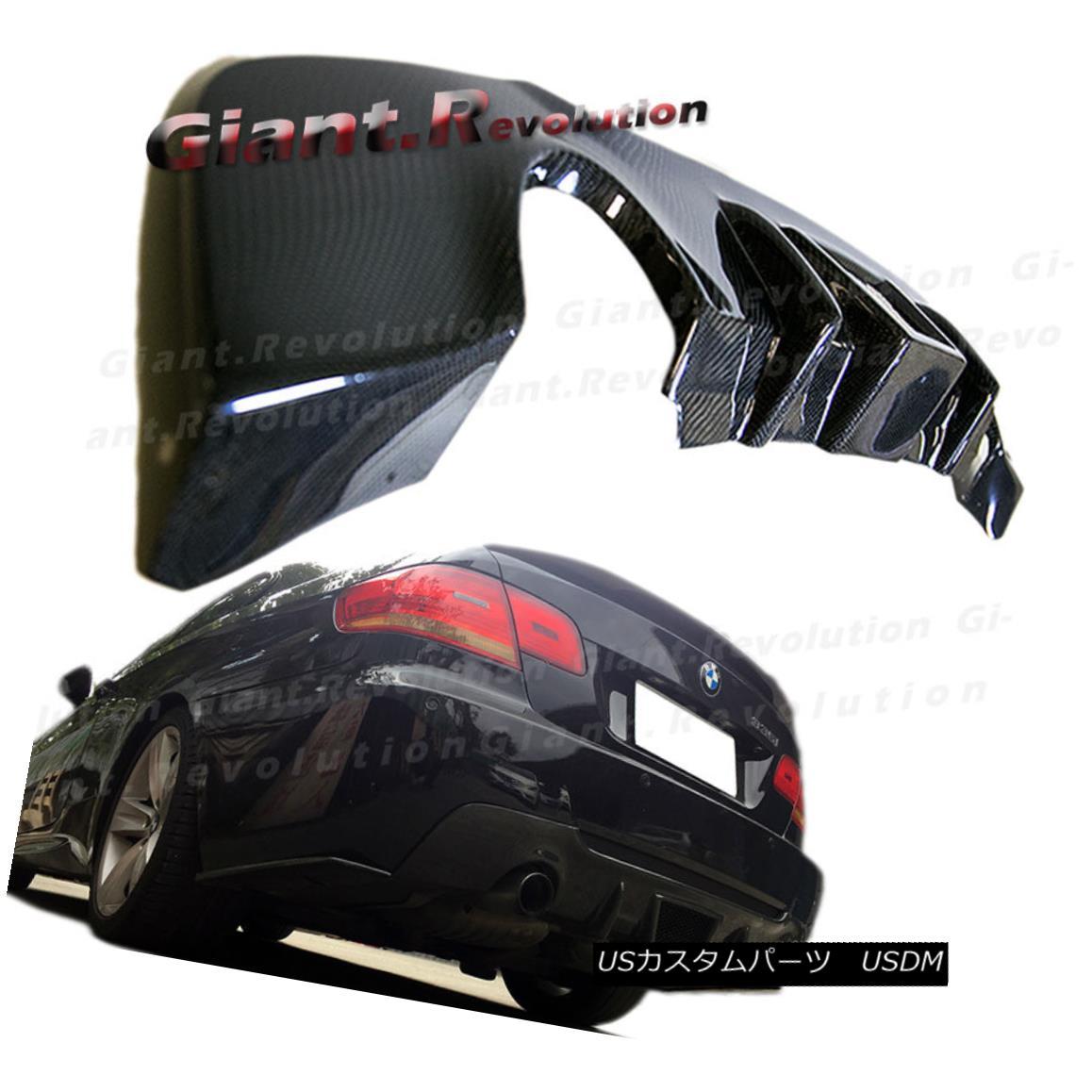 エアロパーツ TMS Look Carbon Fiber Replace Rear Diffuser Fit BMW 07-13 E92 E93 M-Sport Bumper TMSルックカーボンファイバーリヤディフューザーフィットBMW 07-13 E92 E93 M-スポーツバンパー