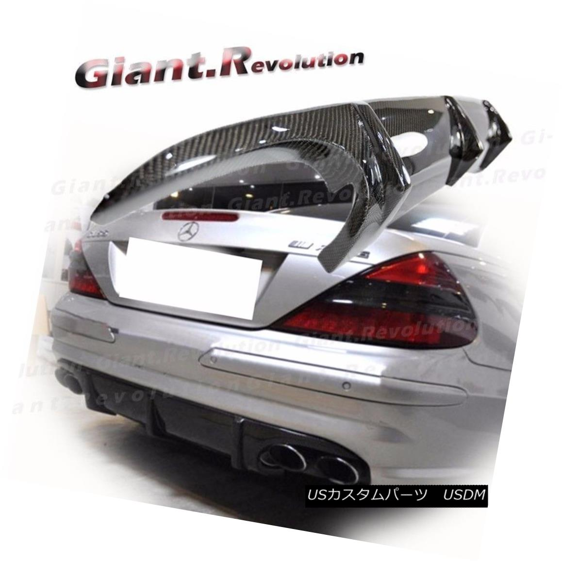 エアロパーツ Carbon Fiber Bumper Diffuser Fit 03-08 M BENZ R230 SL55AMG Convertible Body Kit カーボンファイバーバンパーディフューザーフィット03-08 M BENZ R230 SL55AMGコンバーチブルボディキット