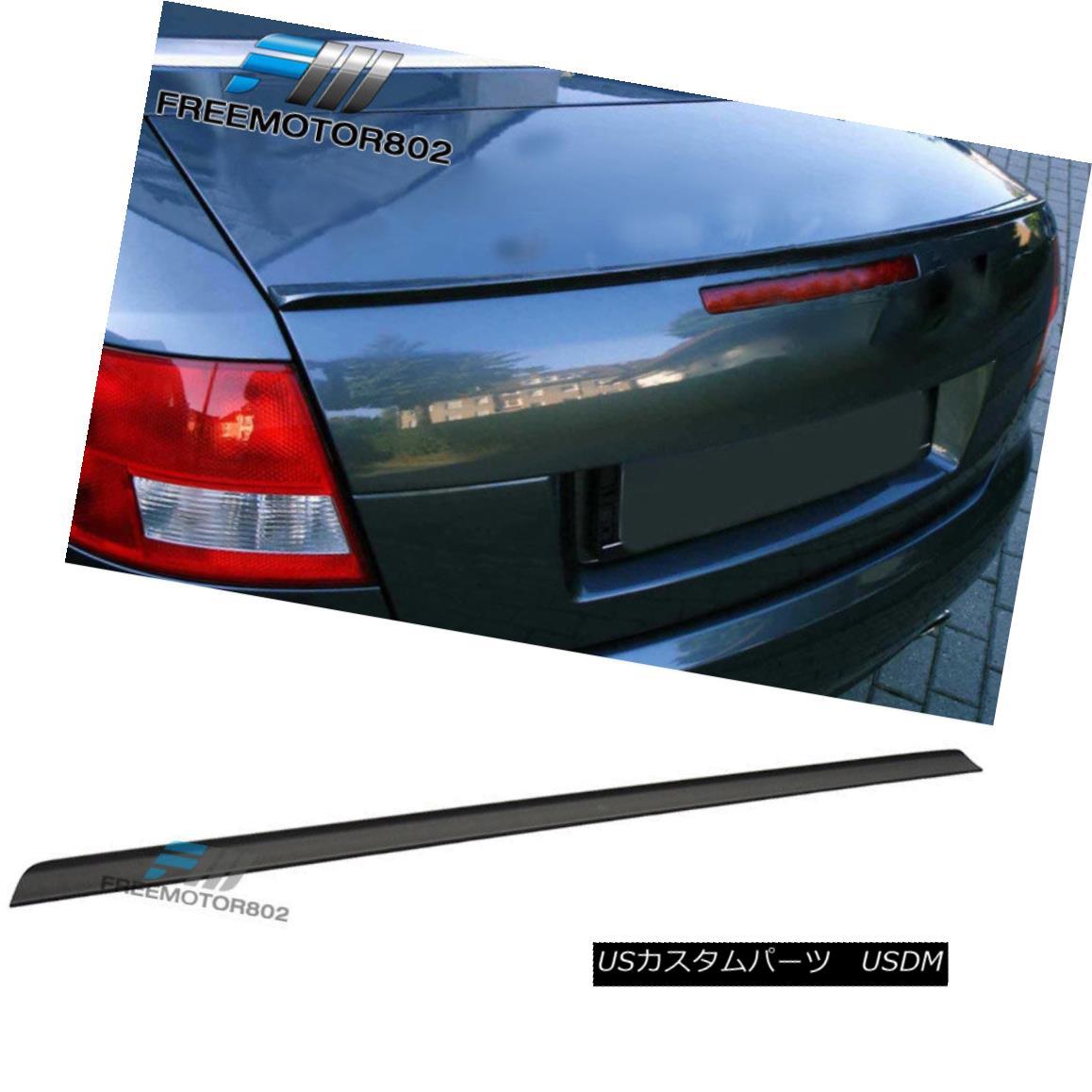 エアロパーツ Fit 01-06 Nissan Skyline V35 4Dr PV Style Rear Trunk Spoiler Wing PUF フィット01-06日産スカイラインV35 4Dr PVスタイルリアトランクスポイラーウイングPUF