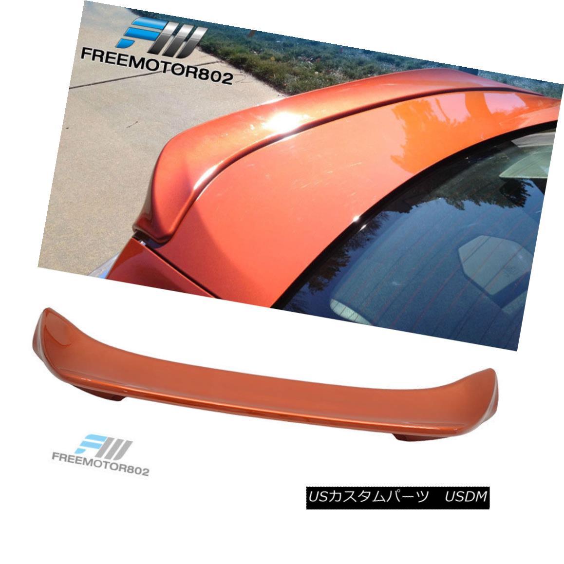 エアロパーツ Fit 13-17 Scion FRS Painted Trunk Spoiler Hot Lava #H8R フィット13-17サイオンFRS塗装トランクスポイラーホット溶岩#H8R