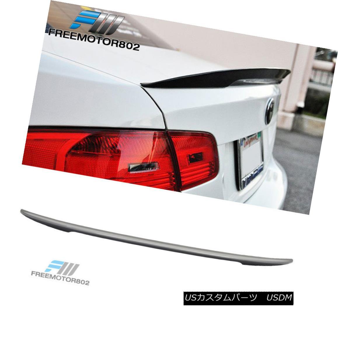 エアロパーツ Fit For 07-13 BMW E92 Coupe 3-Series Rear Trunk Spoiler Painted #A52 Space Gray 07-13 BMW E92クーペ3シリーズリアトランク・スポイラー#A52スペース・グレー